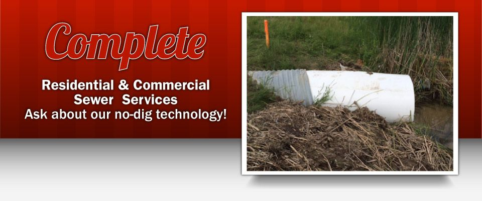 Complete Residential & Commercial Sewer Services for Southern Ontario | Pipe